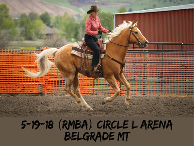 5-19-18 (RMBA) Circle L Arena, Belgrade MT-2-BLACK LETTERS