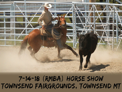 7:14:18 (RMBA) Horse Show-Townsend Fairgrounds, Townsend MT