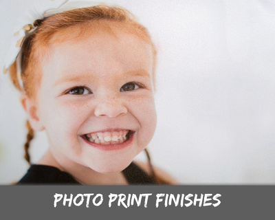 Photo Print Finishes