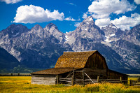 T.A. Moulton Barn in the Mormon Row Historic District - Grand Tetons, WY